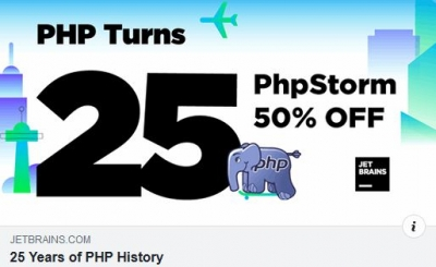 PHP wird 25